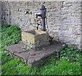 ST3757 : Village Pump, Christon by Chris Andrews
