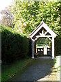 ST8115 : Lych gate, St Nicholas Churchyard by Maigheach-gheal