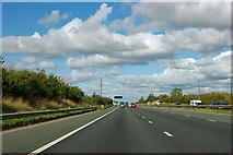 SE4062 : A1(M) northbound by Robin Webster