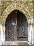 TQ8833 : Door, St Mildred's Church by Maigheach-gheal