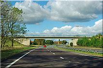 SE4284 : A19 - Green Lane bridge by Robin Webster