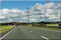 SE4286 : Pylon by the A19 by Robin Webster