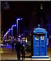 NS5965 : Buchanan Street police box by Thomas Nugent