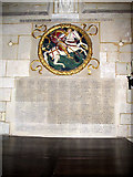 TQ3280 : Southwark Cathedral: war memorial by Stephen Craven