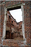 TL0339 : Through the window at Houghton House by Pam Goodey