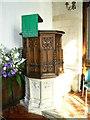 SU1790 : Pulpit, St Leonard's Church, Stanton Fitzwarren by Brian Robert Marshall