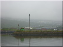 NS3075 : Doon The Watter - 25th June 2011 : Semaphore Signal at Great Harbour, Port Glasgow by Richard West