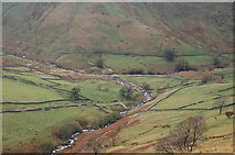 NY4112 : Junction of Hayeswater Gill and Pasture Beck by Jim Barton