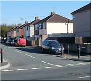 ST3186 : South side of Lime Close, Newport by Jaggery