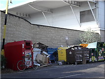 SP2806 : Recycling bins by andrew auger