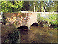 SU0725 : Bridge over the Ebble by Jonathan Kington
