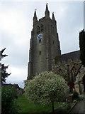 TQ8833 : Tower, St Mildred's Church by Maigheach-gheal