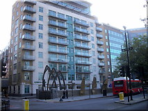 TQ3078 : White Hart Dock, Lambeth, London by PAUL FARMER
