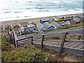 SZ2791 : Steps to the Beach by Mike Smith