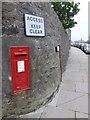 HU4741 : Lerwick: postbox № ZE1 10, Hillhead by Chris Downer