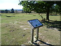 TQ4628 : Ashdown Forest information board about the Misbourne Valley by Marathon