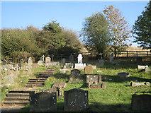 SP1566 : Churchyard of St Nicholas, Beaudesert  by Robin Stott