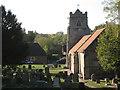 SP1566 : St Nicholas's Church, Beaudesert  by Robin Stott