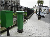 H6733 : Post box and Drop box, Monaghan by Kenneth  Allen