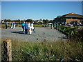 SZ5984 : Playing boules in Sandown by Ian S