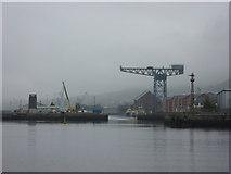 NS2975 : Doon The Watter - 25th June 2011 : James Watt Dock, Greenock by Richard West