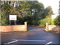 SJ4285 : Entrance to Woolton Golf Course by Alex McGregor