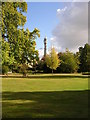 TQ2882 : Park Square Gardens, north of Marylebone Road, London by Christopher Hilton