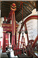 SJ6903 : Blists Hill Victorian Town Museum - beam engine. by Chris Allen