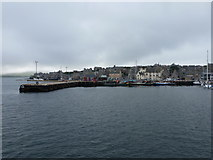 HU4741 : Lerwick: the harbour from the Bressay ferry by Chris Downer
