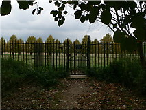 TQ1667 : Park Gate, Hampton Court Park by Eirian Evans