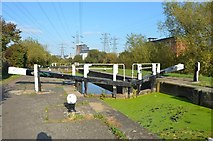 SK5702 : Lock on the Canal by Ashley Dace