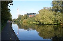 SK5803 : Grand Union Canal/ River Soar by Ashley Dace