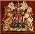TQ5884 : St Mary Magdalene, North Ockendon - Royal Arms by John Salmon