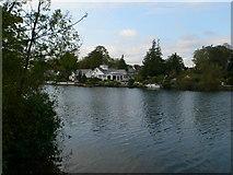 TQ1169 : Sunbury Court Island by Eirian Evans