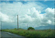 N6077 : Telegraph and power lines west of Patrickstown by Eric Jones
