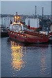 NJ9505 : Ocean Mainport at Pocra Quay, Aberdeen by Mike Pennington