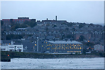 NJ9505 : New building on Greyhope Road, Torry, Aberdeen by Mike Pennington
