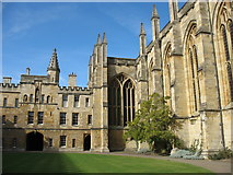 SP5106 : Front Quad, New College, Oxford by David Purchase