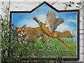 NY5045 : Sign for The Fox and Pheasant Inn, near Armathwaite by Mike Quinn