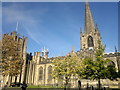 SK3587 : Sheffield Cathedral by Steven Haslington