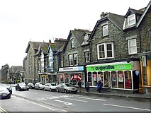 NY3704 : Shops in Compston Road by Rose and Trev Clough