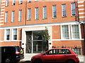 TQ2978 : Entrance to Peel House, Regency Street, Westminster, by PAUL FARMER