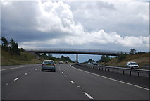 SK1300 : Footbridge, M6 (Toll) by N Chadwick