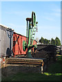 TQ9497 : Goods yard crane by Roger Jones