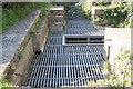 SW5930 : Protective grating on Leeds Shaft at Great Work Mine by Rod Allday