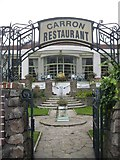 NO8785 : Entrance to 'Carron Restaurant' by Stanley Howe