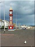 SY6879 : North along the Esplanade, Weymouth by Brian Robert Marshall