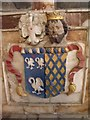 TA1311 : Coat of Arms on Pelham Memorial, Brocklesby Church by J.Hannan-Briggs