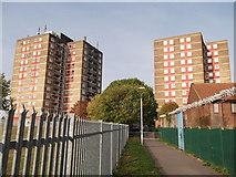 TQ3763 : Housing Blocks in New Addington by David Anstiss