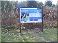 TM3855 : Sandlings Forest Information Board by Adrian Cable
